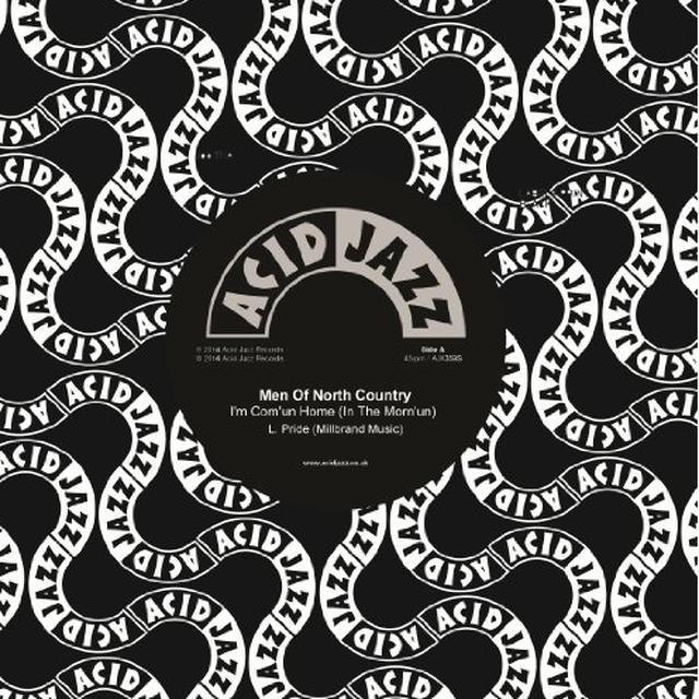 Men Of North Country IAEM COMAEUN HOME (IN THE MORNAEUN) Vinyl Record - UK Import