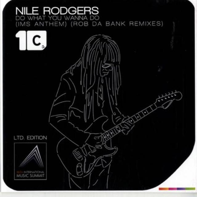 Nile Rodgers DO WHAT YOU WANNA DO Vinyl Record - UK Import