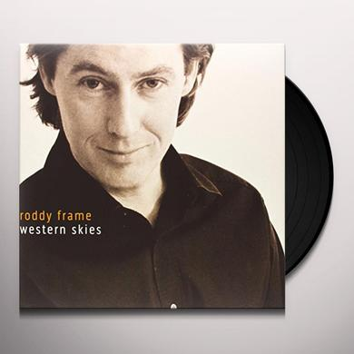 Roddy Frame WESTERN SKIES Vinyl Record - UK Import