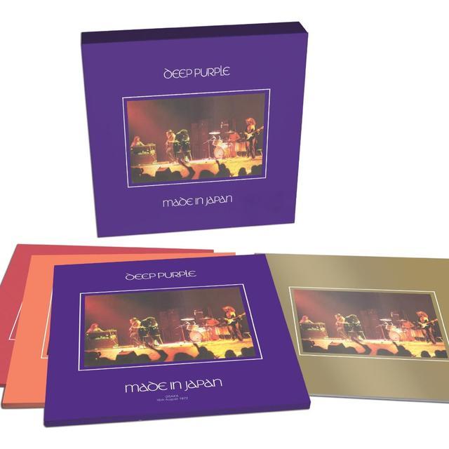 Deep Purple MADE IN JAPAN (DELUXE VINYL) Vinyl Record - UK Release