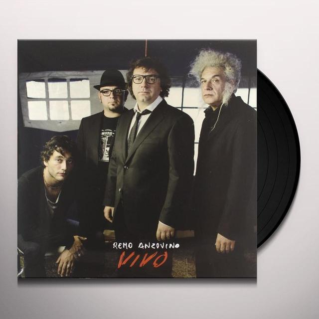 Remo Anzovino VIVO Vinyl Record - Italy Import