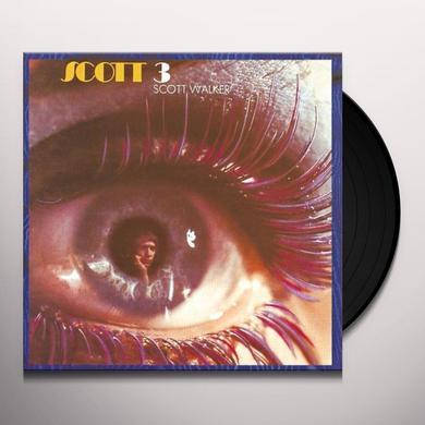 Scott Walker SCOTT 3 Vinyl Record - UK Import