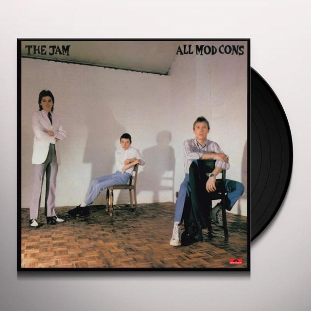 The Jam ALL MOD CONS Vinyl Record - Canada Release