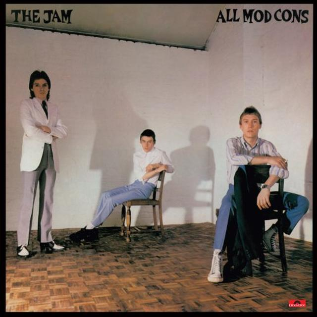 The Jam ALL MOD CONS Vinyl Record - Canada Import