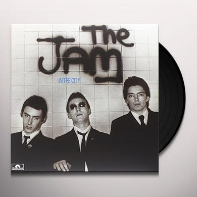 The Jam IN THE CITY Vinyl Record - Canada Release