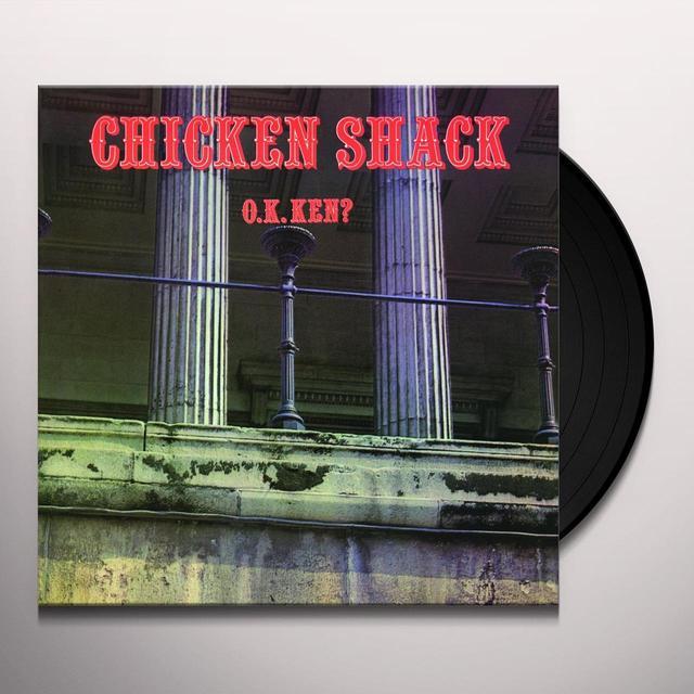 Chicken Shack O.K. KEN? Vinyl Record - Holland Import