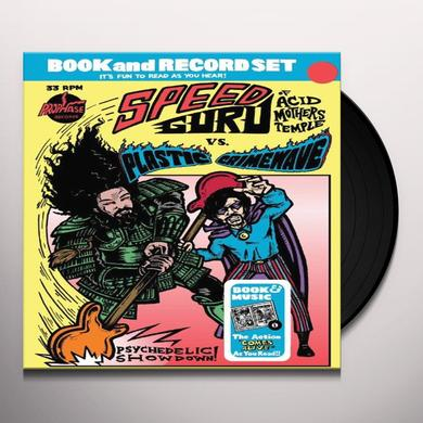 Speed Guru Vs Plasti PSYCHEDELIC SHOW Vinyl Record - Canada Import