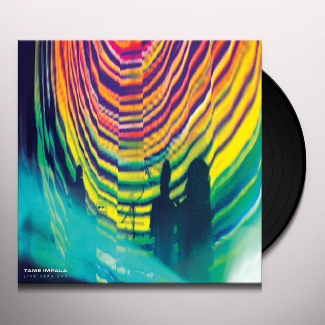 Tame Impala LIVE VERSIONS Vinyl Record - UK Import