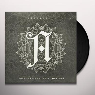 Architects Uk LOST FOREVER / LOST TOGETHER Vinyl Record