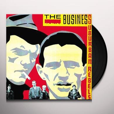 The Business SUBURBAN REBELS Vinyl Record - Limited Edition