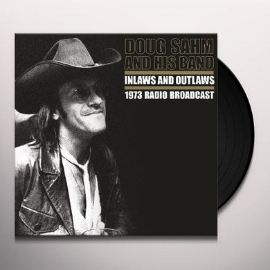 Doug Sahm INLAWS & OUTLAWS Vinyl Record - Limited Edition