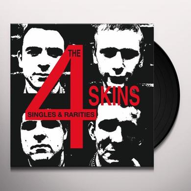 4 Skins SINGLES & RARITIES Vinyl Record - Limited Edition