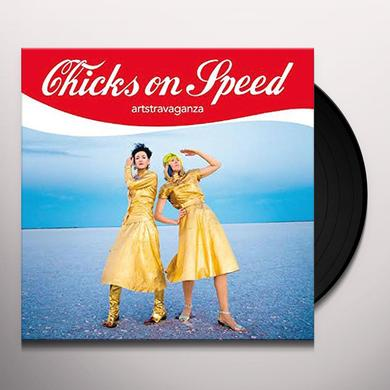 Chicks On Speed ARTSTRAVAGANZA Vinyl Record - w/CD