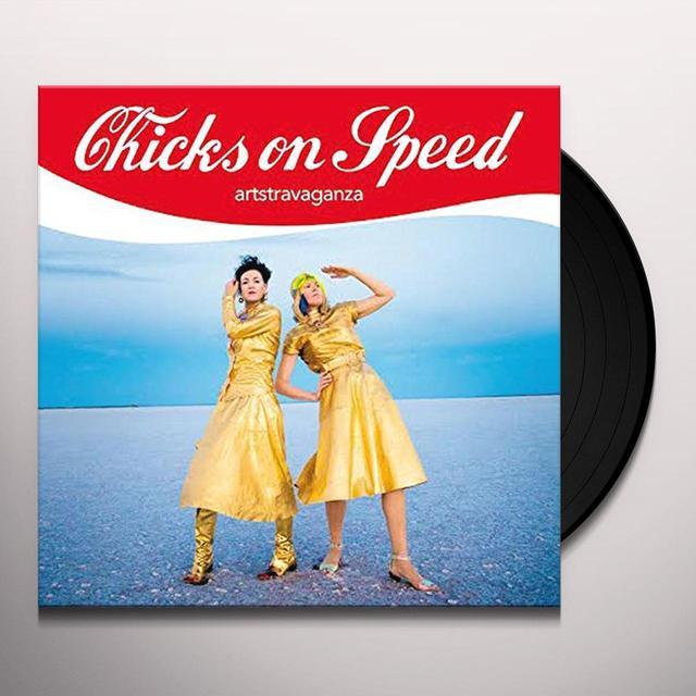 Chicks On Speed ARTSTRAVAGANZA Vinyl Record - w/CD