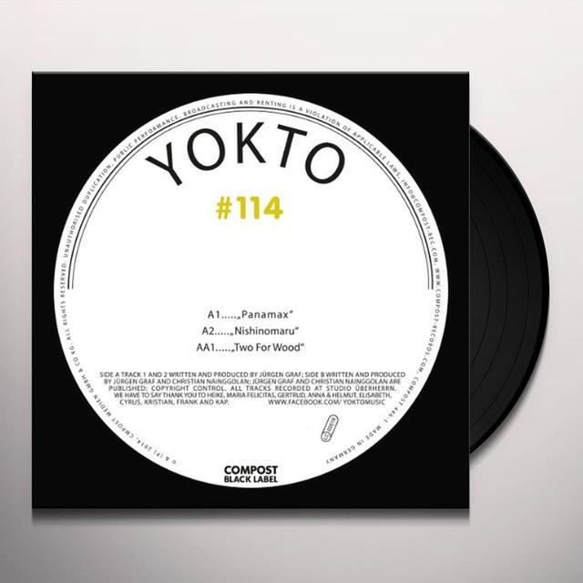 Yokto COMPOST BLACK LABEL 114 Vinyl Record