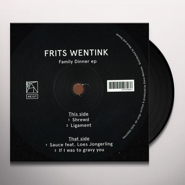 Frits Wentink FAMILY DINNER (EP) Vinyl Record