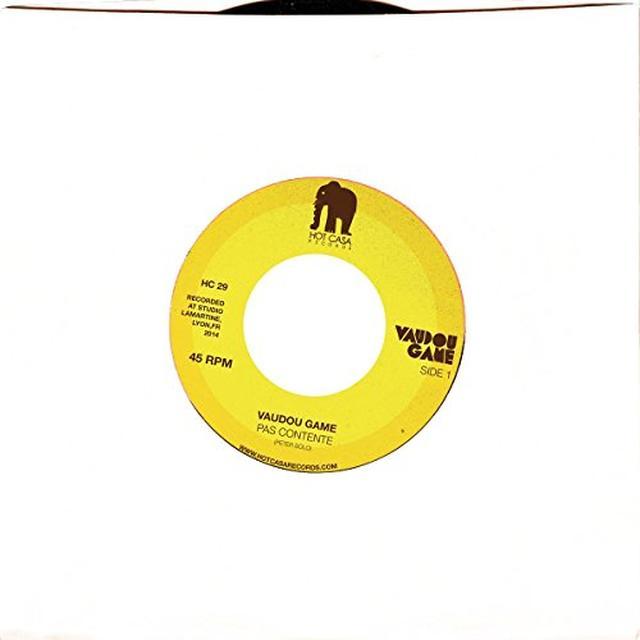 Vaudou Game PAS CONTENTE / LAZY TRAIN Vinyl Record