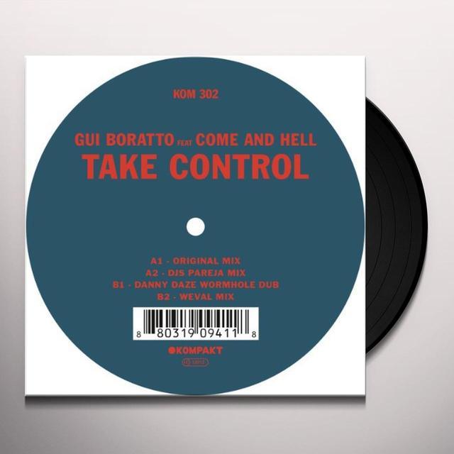 Gui Boratto TAKE CONTROL Vinyl Record