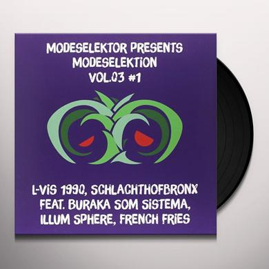 Modeselektor MODESELEKTION 3 NO. 1 Vinyl Record