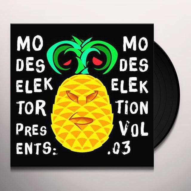 Modeselektor MODESELEKTION VOL 3 Vinyl Record