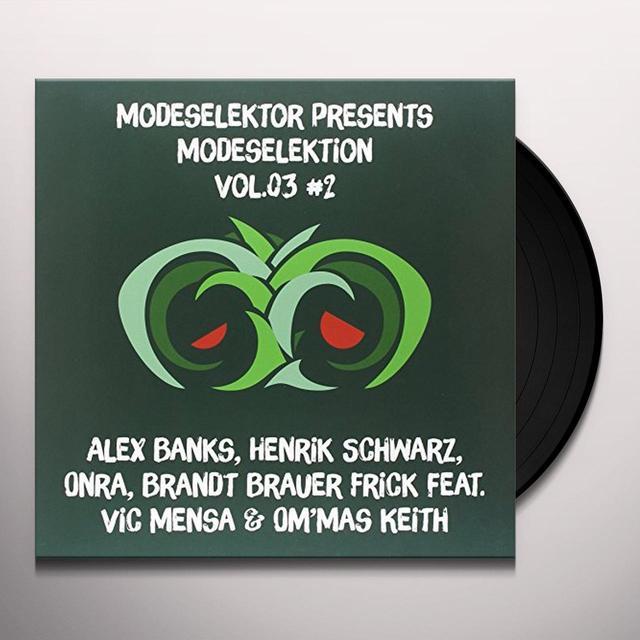Modeselektor MODESELEKTION 3 NO. 2 Vinyl Record