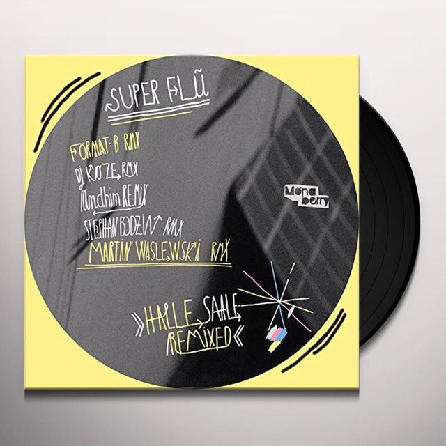Super Flu HALLE SAALE REMIXED Vinyl Record