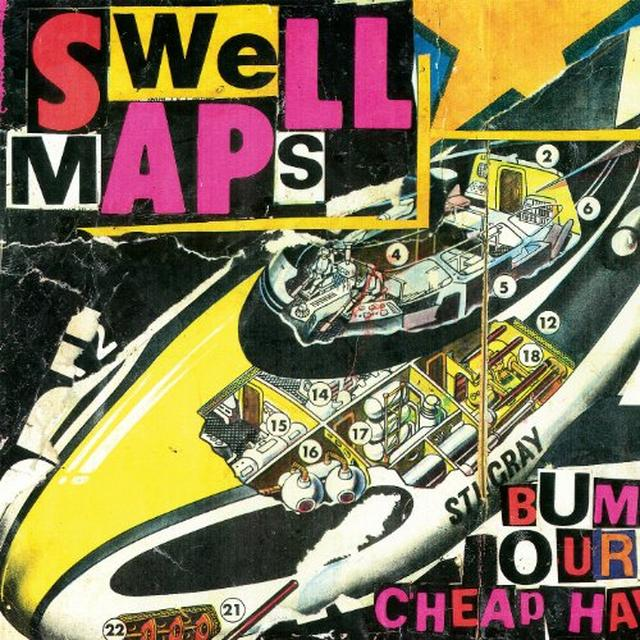 Swell Maps ARCHIVE RECORDINGS 1: WASTRELS & WHIPPERSNAPPERS Vinyl Record