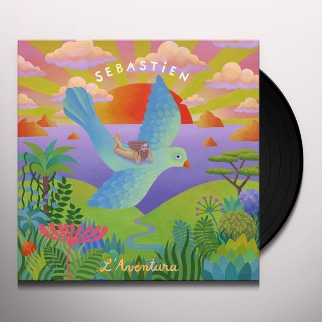 Sébastien Tellier L'AVENTURA Vinyl Record