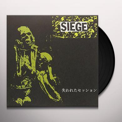 Siege LOST SESSION 91 Vinyl Record