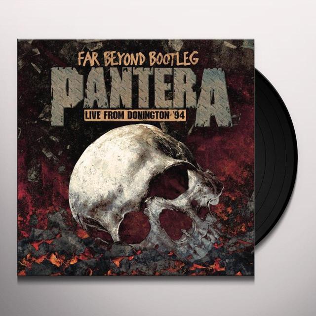 Pantera FAR BEYOND BOOTLEG: LIVE FROM DONINGTON 94 Vinyl Record