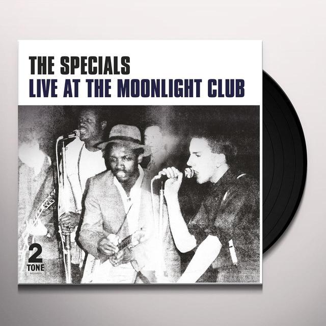 The Specials LIVE AT THE MOONLIGHT CLUB Vinyl Record - 180 Gram Pressing