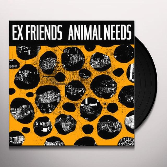 Exfriends ANIMAL NEEDS Vinyl Record
