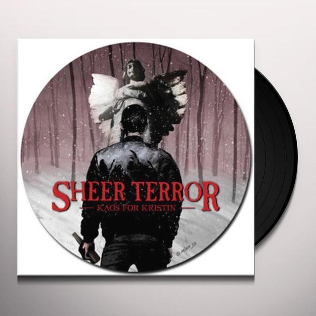 Sheer Terror KAOS FOR KRISTEN Vinyl Record - Picture Disc