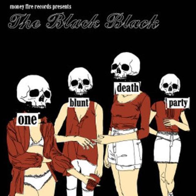 Black Black ONE BLUNT DEATH PARTY Vinyl Record
