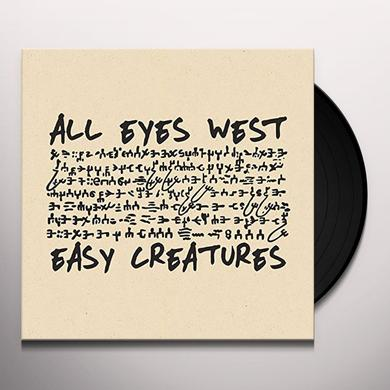 All Eyes West / Easy Creatures SPLIT 7 Vinyl Record