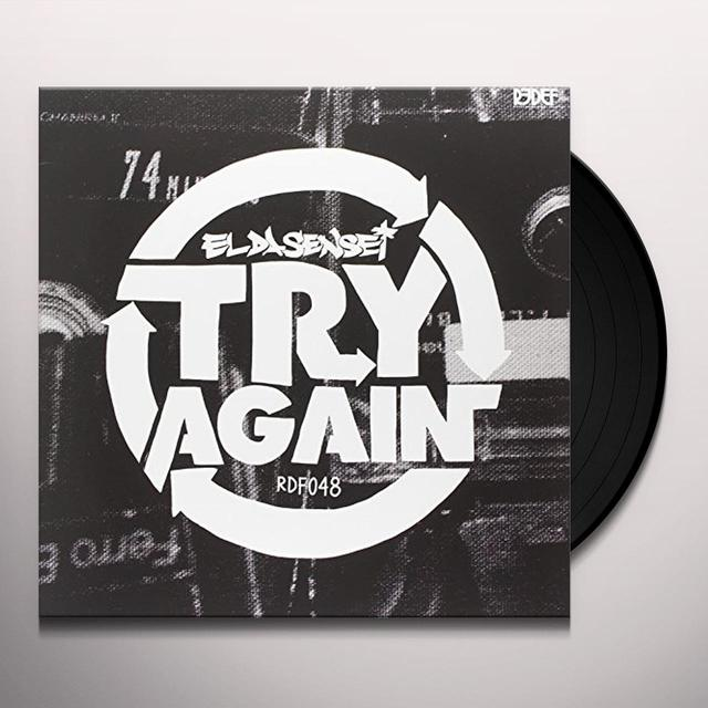El Da Sensei TRY AGAIN Vinyl Record - 10 Inch Single