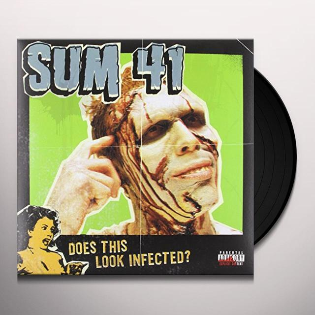 Sum 41 DOES THIS LOOK INFECTED (BONUS TRACKS) Vinyl Record - Gatefold Sleeve