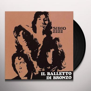 Balletto Di Bronzo SIRIO 222 Vinyl Record - Limited Edition, Poster