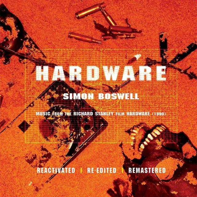 Simon (Ltd) Boswell HARDWARE / O.S.T. Vinyl Record - Limited Edition