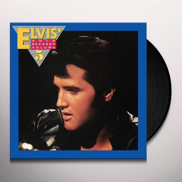 ELVIS GOLD RECORDS VOLUME 5 Vinyl Record