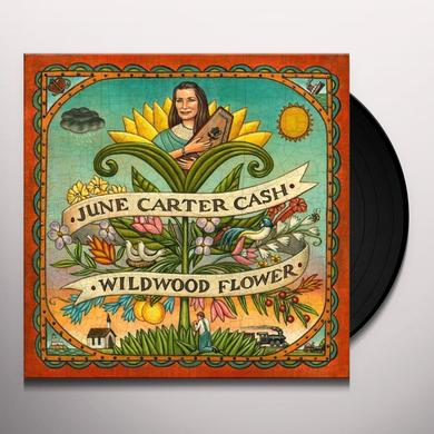June Carter Cash WILDWOOD FLOWER Vinyl Record