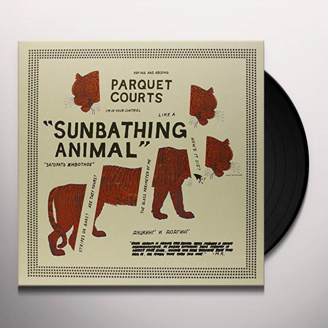 Parquet Courts SUNBATHING ANIMAL Vinyl Record - UK Import