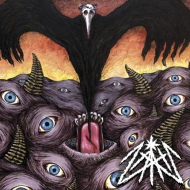Zath BLACK GOAT RAZOR B/W PAIN REAPER Vinyl Record