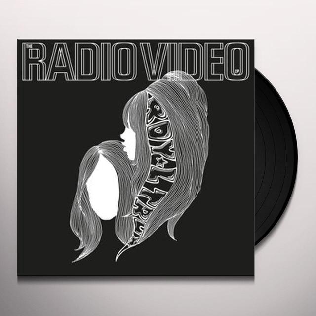 Royal Trux RADIO VIDEO EP Vinyl Record - UK Import
