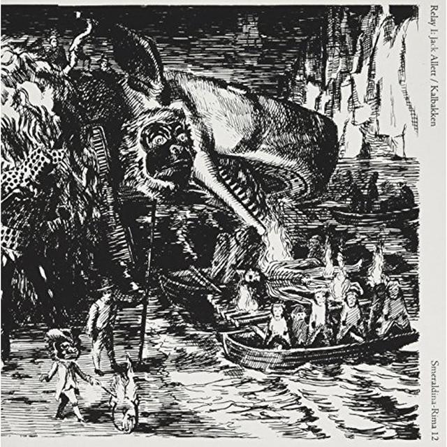 Jack Allett RELAY 1/KALBAKKEN Vinyl Record
