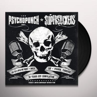 Supersuckers/Psychopunch SPLIT 7 INCH Vinyl Record - UK Import