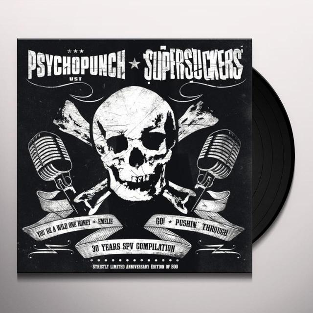 Supersuckers/Psychopunch SPLIT 7 INCH Vinyl Record