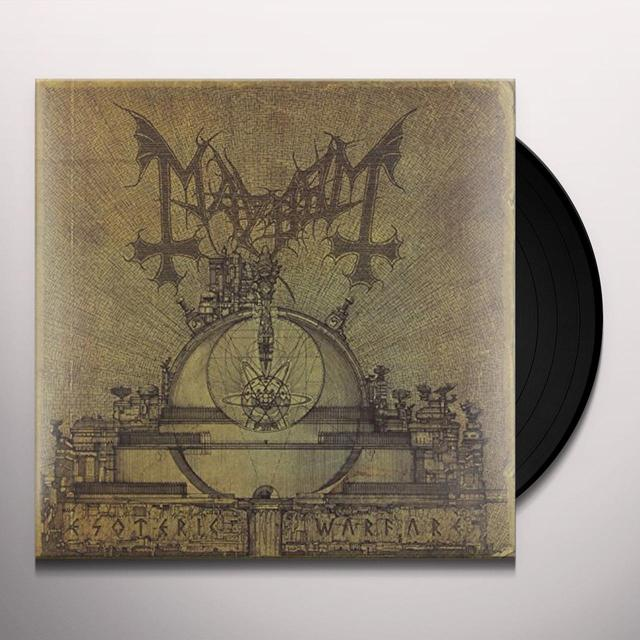 Mayhem ESOTERIC WARFARE Vinyl Record
