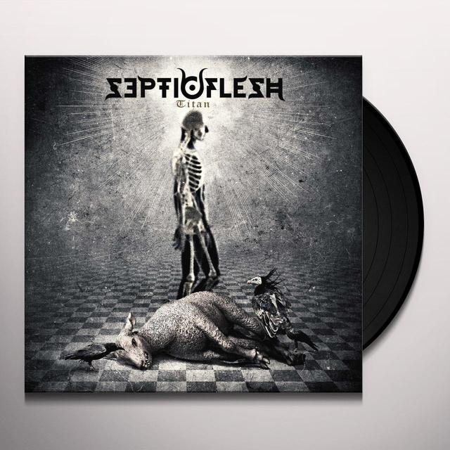 Septicflesh TITAN (WHITE VINYL) Vinyl Record - UK Import