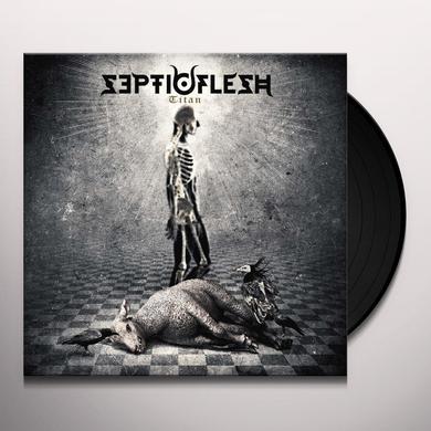 Septicflesh TITAN (WHITE VINYL) Vinyl Record